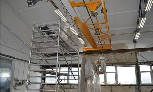 Industrial painting, Structural steel painting